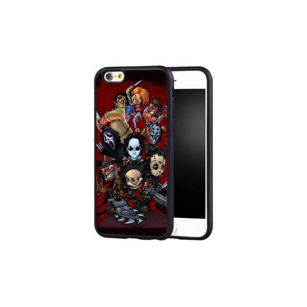 Horror Icons Phone Case iPhone