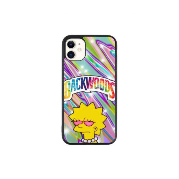 Lisa Smoking Blunt Simpsons Weed Phone Case