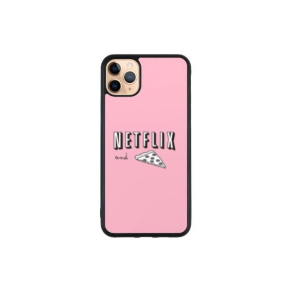 Netflix and Pizza Phone Case iPhone